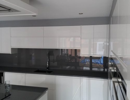 Stunning Glass Splashback for Derby Customer