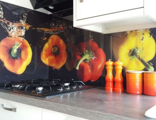 Hotplate splashbacks for Nottingham kitchen