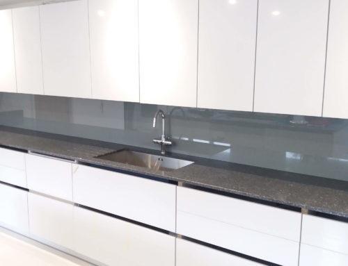 Any shade of Grey – Toughened Glass Kitchen Splashbacks