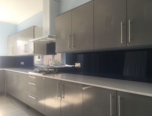 Reflective quality of Glass Splashbacks